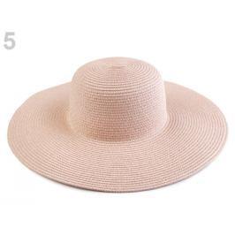 Dámsky klobúk k ozdobeniu pudrová 8ks Stoklasa