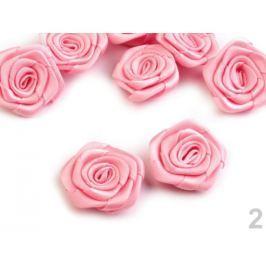 Saténová ruža Ø30 mm ružová str. 400ks Stoklasa