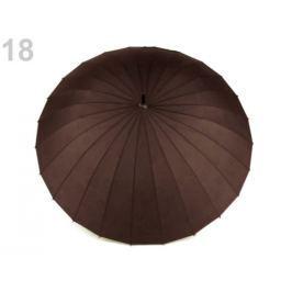 Dámsky dáždnik čarovný s kvetmi hnedá 1ks Stoklasa
