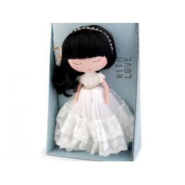Bábika Anekke svadobná biela 1ks