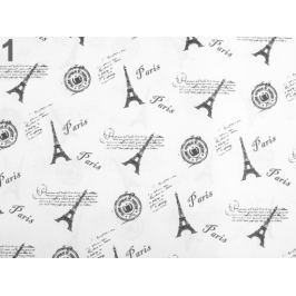 Baliaci / dekoračný papier 50x75 cm biela 36ks Stoklasa
