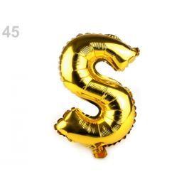 Nafukovacie písmená zlatá 1ks Stoklasa