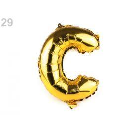 Nafukovacie písmená zlatá 10ks Stoklasa