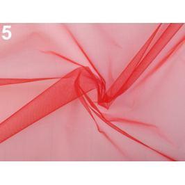Organza tuhá červená 1m Stoklasa