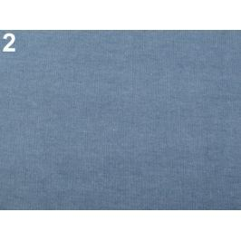 Elastická riflovina modrofialová 1m Stoklasa