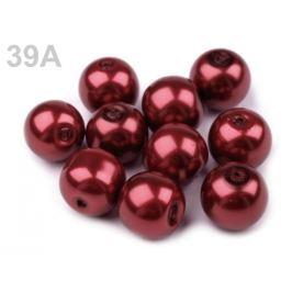 Voskové perly Ø10 mm bordó 50g Stoklasa