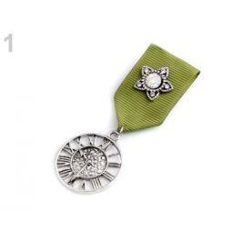 Brošňa / odznak zelená 4ks Stoklasa