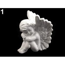 Dekorácia anjel biela 24ks Stoklasa