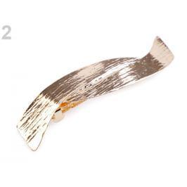 Francúzska spona do vlasov zlatá 12ks Stoklasa