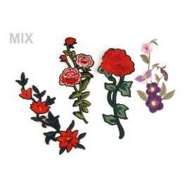 Nažehlovačka na rifle kvety / ruže Stoklasa