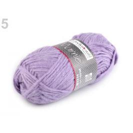 Pletacia priadza 50 g Marnie fialová lila 10ks