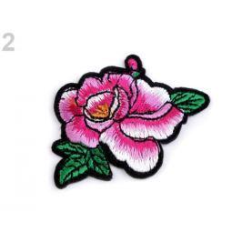 Nažehlovačka na rifle ruže fialovoružová 10ks Stoklasa