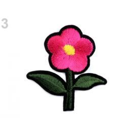 Nažehlovačka kvet malinová 250ks Stoklasa