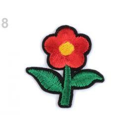 Nažehlovačka kvet červená 250ks Stoklasa