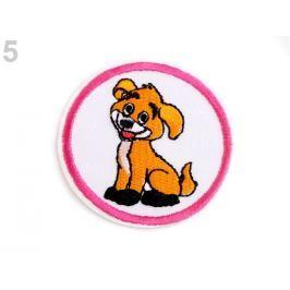 Nažehlovačka zvieratká oranžová   10ks Stoklasa