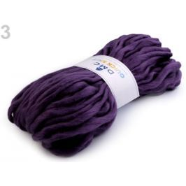 Pletacia priadza 150 g Quick Knit DMC fialová 1ks