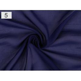 Šifón modrá berlínska 1m