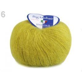 Pletacia priadza 25 g Big Mohair zelená chartreuse 1ks