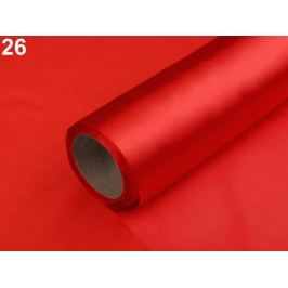 Satén jednostranný šírka 36 cm červená 9m Stoklasa
