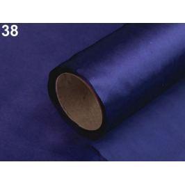 Satén jednostranný šírka 14 cm modrá parížska 90m Stoklasa