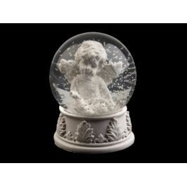 Snežítko s anjelom 2. akosť biela 3ks Stoklasa