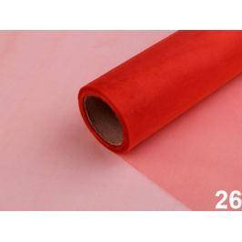 Organza šírka 14,5 cm červená 180m Stoklasa