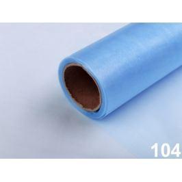 Organza šírka 14,5 cm modrá azuro 180m Stoklasa