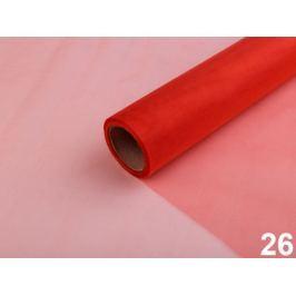 Organza šírka 36 cm červená 90m Stoklasa