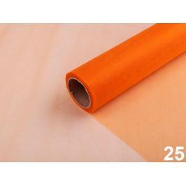 Organza šírka 36 cm oranžová   90m Stoklasa