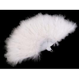 Vejár pérový veľký biela 3ks Stoklasa