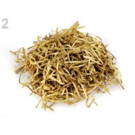 Metalická slama 10 g zlatá 1sáčok Stoklasa