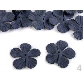 Polotovar k výrobe kvetov Ø40 mm modrá tmavá 100ks Stoklasa