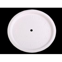 Hodinový ciferník k domaľovaniu biela 1ks Stoklasa