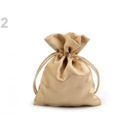 Darčekové vrecúško 9,5x13 cm saténové zlatá 1ks Stoklasa
