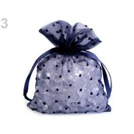 Darčekové vrecúško s 3D bodkami / nopky 13x17,5 cm modrá tmavá 10ks Stoklasa