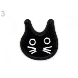 Nažehlovačka kohút, duch, mačka čierna 10ks Stoklasa