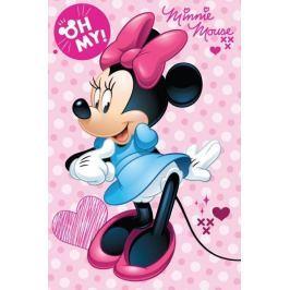 Deka fleece Minnie Oh my 100x150