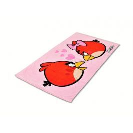 Licenčná froté osuška Angry Birds 75x150cm