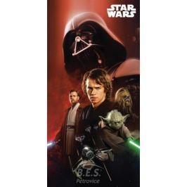 osuška 75x150 - Star Wars 01