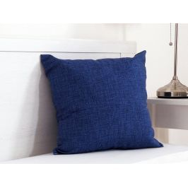 Vankúšik dekoračný modrý 45x45 cm