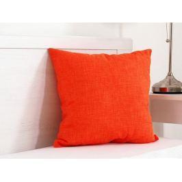 Vankúšik dekoračný oranžový 45x45 cm