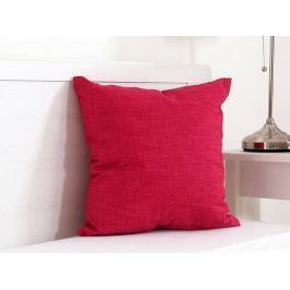 Vankúšik dekoračný červený 45x45 cm