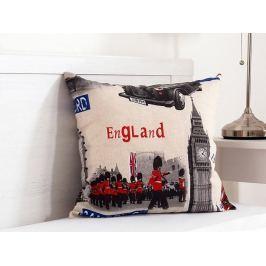 Vankúšik dekoračný 45x45 cm - England