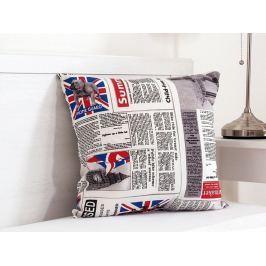 Vankúšik dekoračný 45x45 cm - English news