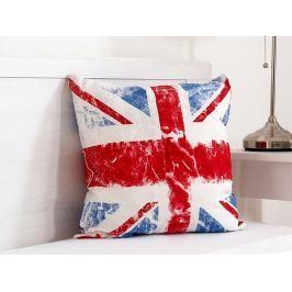 Vankúšik dekoračný Union Jack 45x45 cm