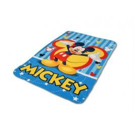 Deka fleecová Mickey 120x150 cm