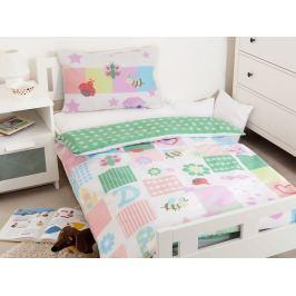 Obliečky do postieľky pre bábätká Lienka bavlna 100x135cm