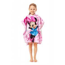 Dětské pončo Minnie 60 x 120 bavlna