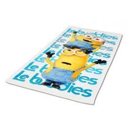 Licenčná osuška Minions Le Buddies 70x140