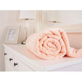 Mikroflanelová hebká deka marhuľová 150x200